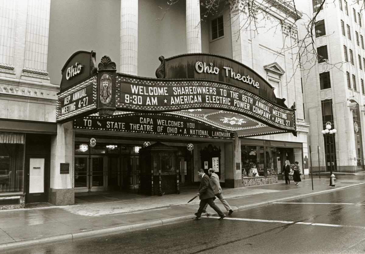 The Ohio Theatre Was The Site Of Aep S 85th Annual Meeting