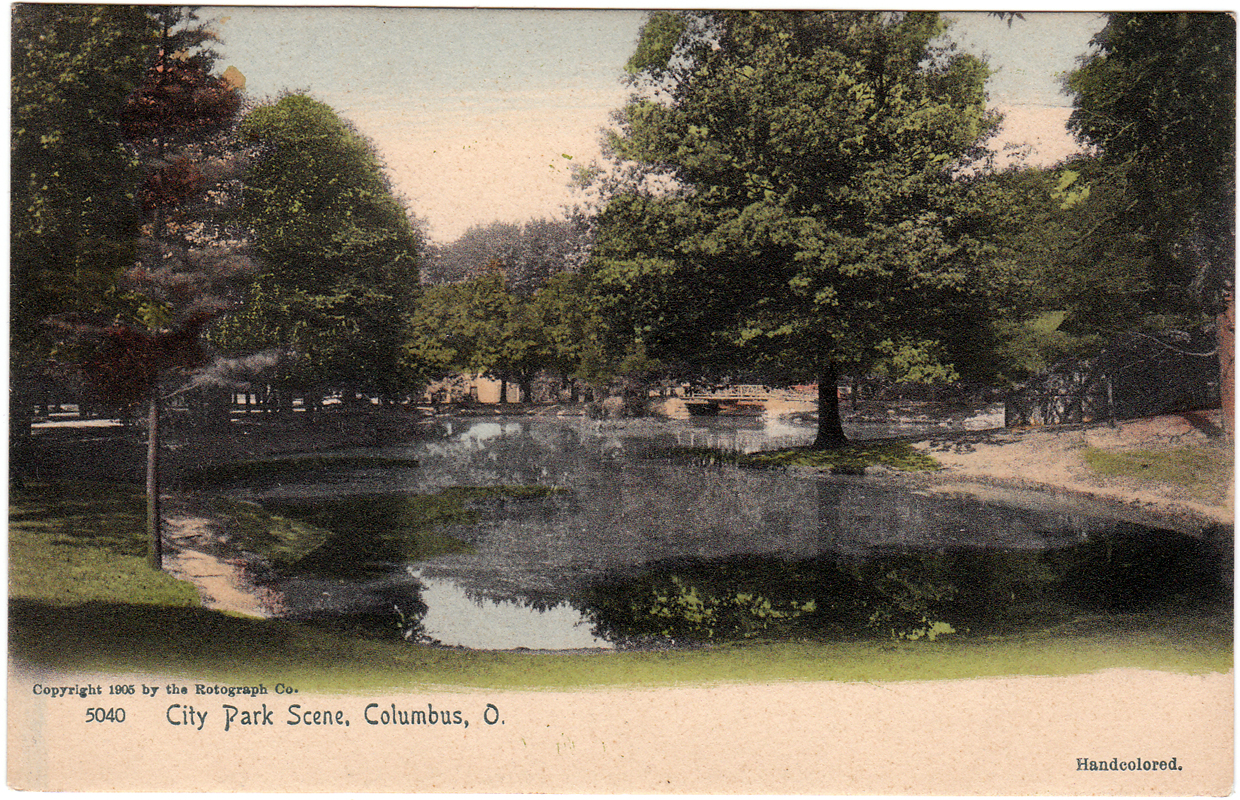 The park in 1905. Copyright: The Rotograph Co.