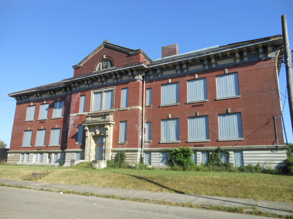 Bellows Avenue Elementary was built in 1905 and closed in 1977.