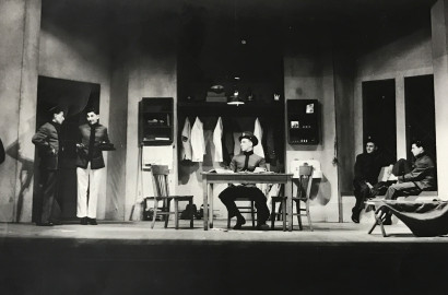 "The Strollers production of ""Brother Rat"" in 1939"