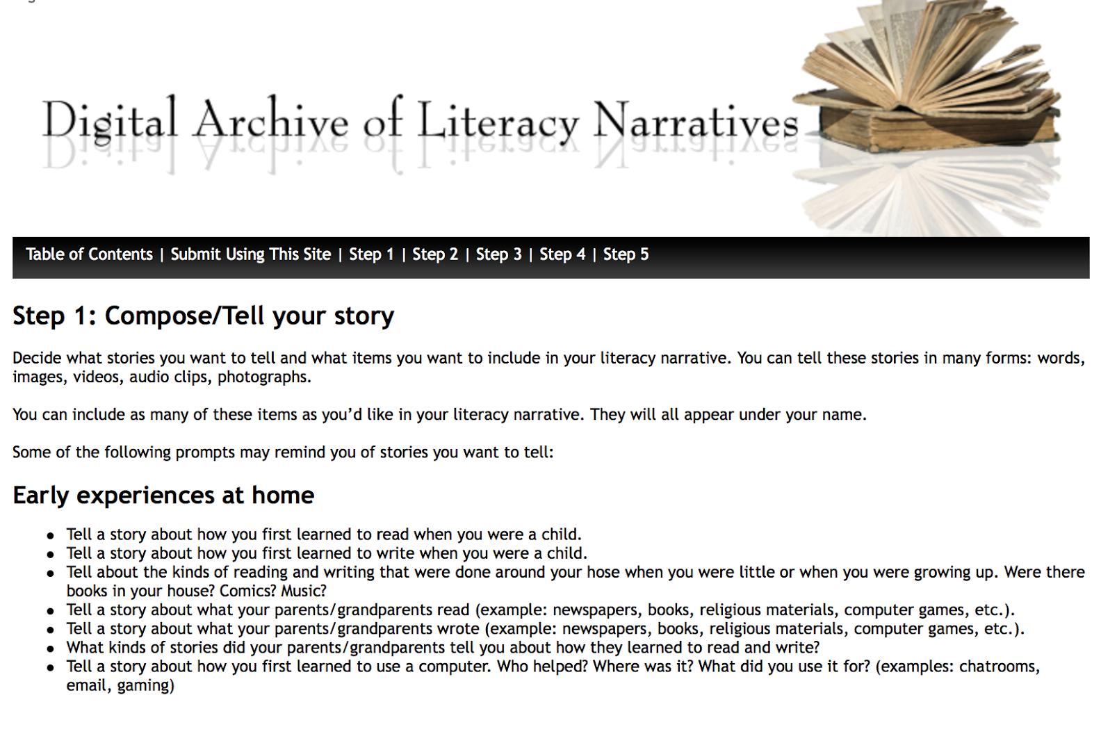 what is a literacy narrative