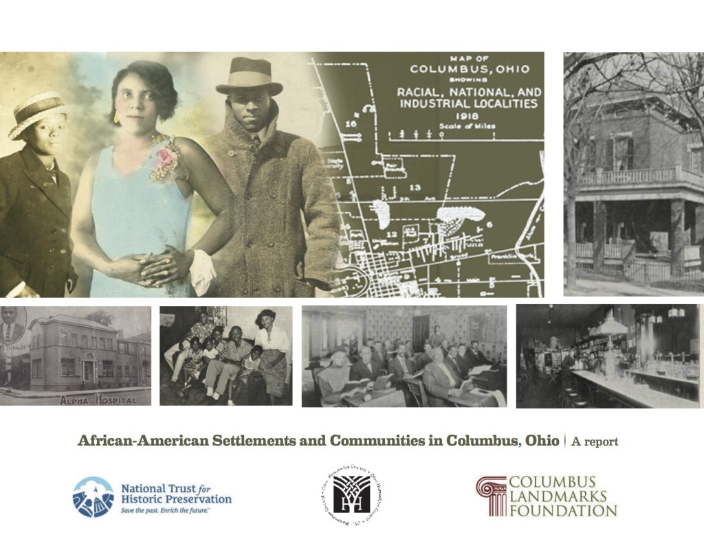 "cover of ""African-American Settlements and Communities in Columbus, Ohio"" report"