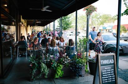 Spagio's patio (courtesy of Destination Grandview)