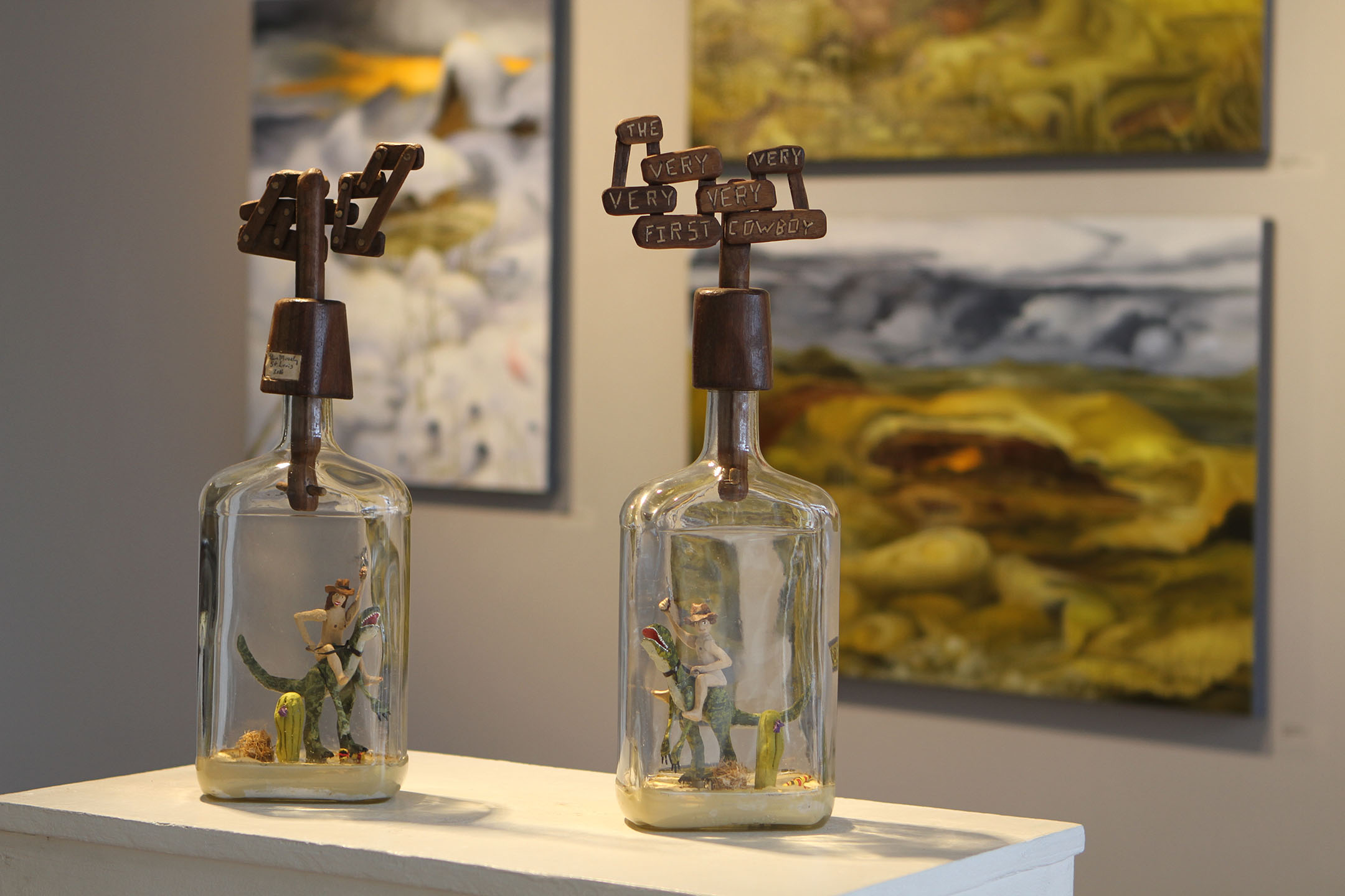 "Steve Moseley's ""Patience Bottles"""