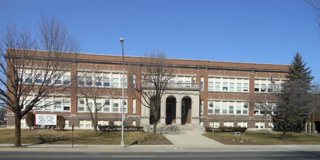 West Broad Elementary School was built in Columbus in 1910. Photo by Aaron Turner.