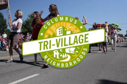 Columbus Neighborhoods: Tri Village logo