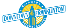 Columbus Neighborhoods: Downtown-Franklinton logo