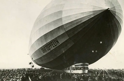 Graf Zeppelin blimp