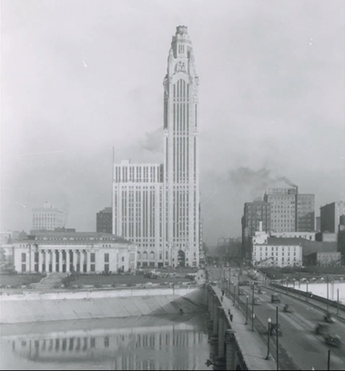 Past And Present Leveque Tower Columbus Neighborhoods