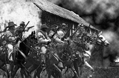 Civil War army artwork