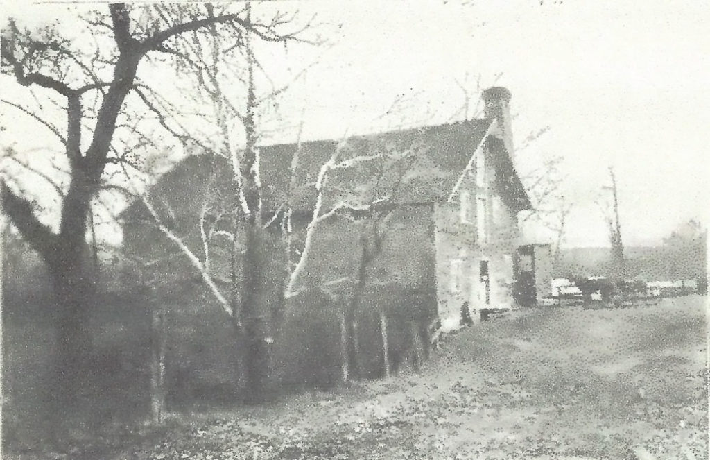 The Nelson lumber and grist mill that was build in Eastgate in the early 1800s.