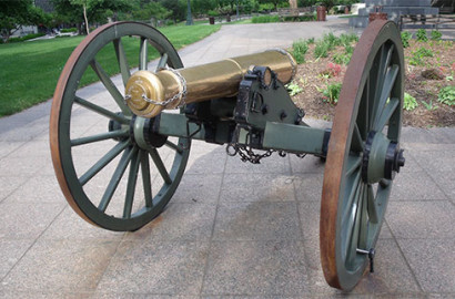 Cannon at the Ohio Statehouse's Capital Square
